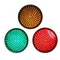 Buy cheap 200mm Red Signal Blinking LED Traffic Light Module, Pixel Cluster Semaforo from wholesalers