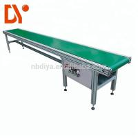 Buy cheap Double Face Belt Conveyor Belt System DY90 Green Rubber Plastic With Aluminum Alloy from wholesalers