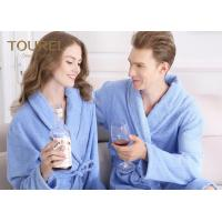 Buy cheap Custom Polyester Blend Hotel Quality Bathrobes for Women / Long Elegant Robe from wholesalers