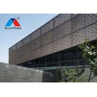 Buy cheap Recyclable Perforated Aluminium Screen For Commercial Building Wall Decoration from wholesalers