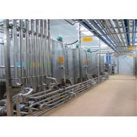 Buy cheap Drinking or Eating Yogurt Production Line Yogurt Making Machinery With Milk Collection Section from wholesalers