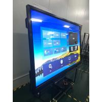 Buy cheap 86'' HDMI/USB/VGA/DVI Inputs Smart Mulmedia interactive touch screen from wholesalers