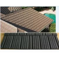 Buy cheap roofing sheet to zambia sierra leone galvanized stone coated metal tile from wholesalers