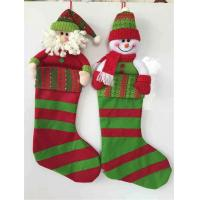Buy cheap Christmas decoration gift stocking christmas holiday decoration christmas sock design from wholesalers