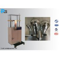 Buy cheap IEC62262 IK Mechanical Impact Test Equipment With 2-20J SS Pendulum Impact Hammers from wholesalers