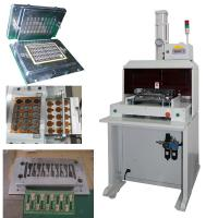 Buy cheap Custom made V Groove Cutting Machine PCB Depanelizer for punching mould from wholesalers
