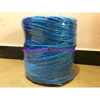 Buy cheap 8g/m Professional Blue Polypropylene Twine Recycled Rope Tenacity Over 252KG from wholesalers