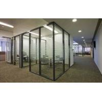 Buy cheap clear and tinted tempered glass with silk printed picture for partion wall from wholesalers