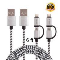 Buy cheap Lightning & Micro Usb Charging Cable Sync And Charging Power Cell Phone Cords from wholesalers