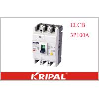Buy cheap KRIPAL UKM30L-100S 3P CE Leakage / Residual Current Molded Case Circuit Breaker Earth Leakage ELCB Non delay type from wholesalers