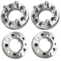 """32mm Wheel Spacers Adapters 5x4.5 to 5x5   1.25"""" Thick   12x1.5 Studs"""