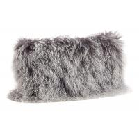 Buy cheap Tibetan Sheepskin Sofa Pillow Covers 10-15cm Long Curly Hair For Bed / Sofa / Chair from wholesalers