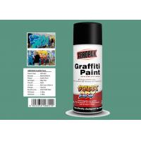 Buy cheap Apple Green Color Graffiti Spray Paint 400ml Filled With MSDS Certificate from wholesalers