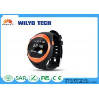 Buy cheap Black S888W GPS Tracker watch mobile phone android 1.2 inches OLED SMS from wholesalers