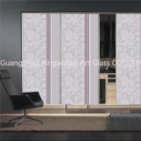 Buy cheap China Decorative Glass For Whole Wardrobe Door from wholesalers