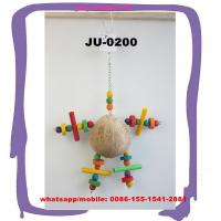Buy cheap Toys Stimulation Activity Cage Accessories Coconut Shell Doll Bird Playing Tools JU-0200 from wholesalers