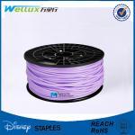 Buy cheap ROHS Transparent 3D Printer Plastic Filament 2.8 - 2.95 mm Opaque Color from wholesalers