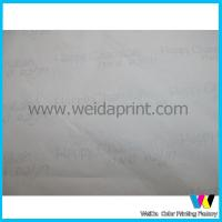 Buy cheap Colorful Garment Packing Recycled Wrapping Paper , beautiful wrapping paper from wholesalers