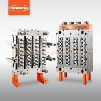 Buy cheap 32 cavities shut off nozzle hot runner preform mould supplier from wholesalers