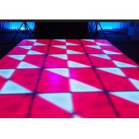 Buy cheap Portable DJ Stage LED Dance Floor Indoor For Wedding Bar Club / Events , DMX Control from wholesalers
