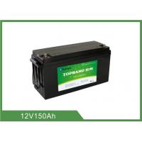 Buy cheap 12v 150ah Bluetooth Lithium Battery Bluetooth APP Lead Acid Replacement Solar Lithium Ion Battery from wholesalers