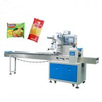 Buy cheap First Class Pillow Packing Machine For Noodle PLC / Double Inverter Control from wholesalers