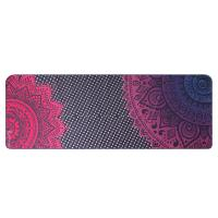 China Multicolor Single Side Printed  Equa Yoga Towel , Soft Yoga Mat Cover Towel on sale