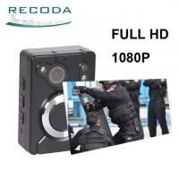 Buy cheap 15H Recording Night Vision 1080P WIFI Police Body Worn Camera Built-in GPS product