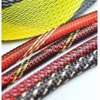 Buy cheap Electrical PET Expandable Braided Sleeving Network Sheath For Wire Protection from wholesalers