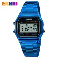 Buy cheap mens watch Digital Rose Gold Watch SKMEI 1123 cool Classic Modern Watches wrist bracelet watches from wholesalers