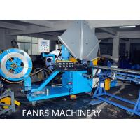 Buy cheap Auto Duct Line Stainless Steel Flexible Spiral Cutting Machine Fully Auto Material Feeding from wholesalers