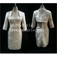 Buy cheap Chinese wedding dress mother of the bride with capelet BYE-14070 from wholesalers