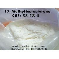 Buy cheap 17-Methyltestosterone Testosterone Steroids Powder CAS 58-18-4 For Promote Male Sex Organs from wholesalers