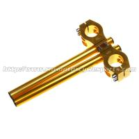 Buy cheap 37mm Long Motorcycle Clip Ons Handlebars With Aluminum Alloy Material from wholesalers