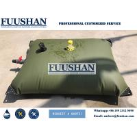Buy cheap Fuushan Long Time Durability 1000Liter PVC Inflatable Water Storage Tanks / Bladders for Water Plant House from wholesalers