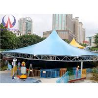 Buy cheap Modern Universal Fabric Canopy Structures , Park Shade Structures Fabric Covered from Wholesalers