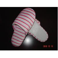 Buy cheap Polyester Super-Soft Hotel Disposable Slippers Closed Toe For Women from wholesalers