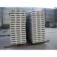 Buy cheap Fireproof PU Sandwich Panel Insulation 50mm Thickness for Prefabricated House from wholesalers