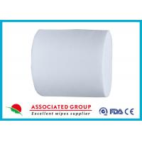 Buy cheap PET / Vis Spunlace Non Woven Roll Ventilating & Harmless, Hygiene Products, 45gsm product