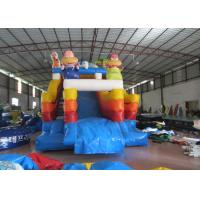 Buy cheap The Simpsons themed inflatable water park big inflatable slide with sealed water pool for children from wholesalers