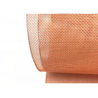 Buy cheap High Purity Copper Wire Mesh Screen 0.04mm To 3mm Wire For Faraday Cage from wholesalers