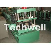 Buy cheap GCr15 Steel Cable Tray Roll Forming Machine For Storage Rack , Rack Beam 12-15m/min from wholesalers