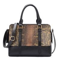 Buy cheap Design Serpentine PU handbag shaper custom wholesale snake print handbag from wholesalers