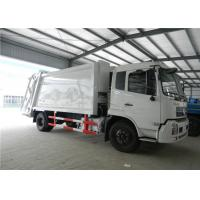Buy cheap Euro II Dongfeng Garbage Compactor Truck 6 Wheels 4cbm For Household Waste from wholesalers