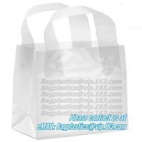 Buy cheap Wave Top Bags, flexi loop handle, die cut handle, block bottom, string bag, Jewelry product