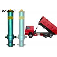 Buy cheap 3 4 5 Stage Long Stroke Hydraulic Cylinder Lifting 13 - 90 Ton Dump Truck Tipper from wholesalers
