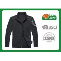 Buy cheap Various Size Men Multi Function Jacket For Runing Black Color from wholesalers