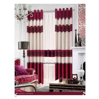Buy cheap Shrink-Resistant Polyester Luxury Ready Made Curtains , Ring And Splice product
