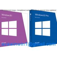 Buy cheap English Multi Language Microsoft Windows 8.1 Retail Box OEM Full Package With Disc USB from wholesalers