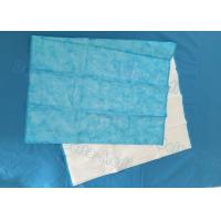 Buy cheap Blue Color Disposable Medical Sheets , Medical Bed Sheets 40 - 100gsm from wholesalers
